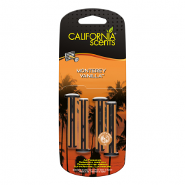 California Scents Vent Sticks Monterey Vanilla